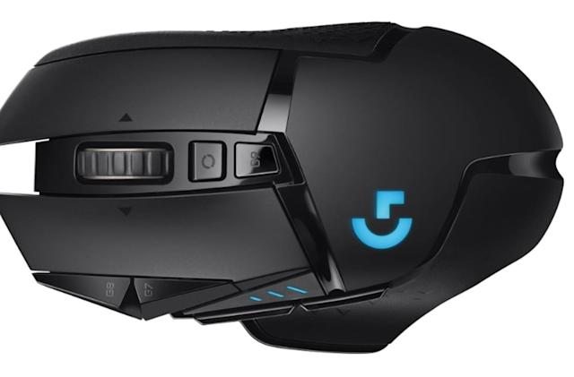 Logitech unveils a wireless version of its G502 gaming mouse