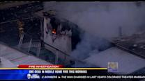 One dead in mobile home fire