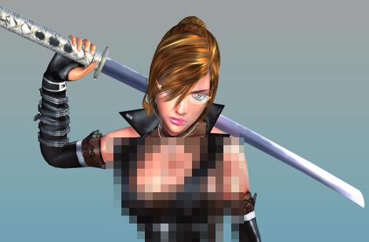 Onechanbara: Leather Catsuit Zombie Slayers