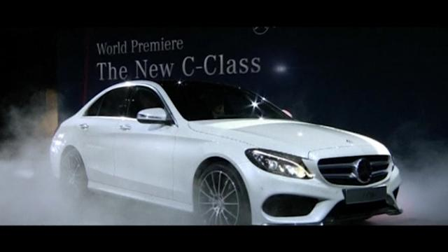 Mercedes-Benz C-Class debuts in Detroit
