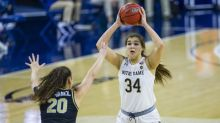 Triumphant return to court for Notre Dame women at Pittsburgh