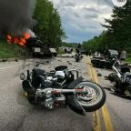 Driver in horrific motorcycle crash pleads not guilty as details emerge