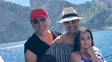 Thalía se escapa a Italia y presume de la buena vida que se da; mírala