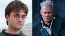 La fuerte opinión de Daniel Radcliffe sobre el casting de Johnny Depp en Animales Fantásticos te dejará atónito