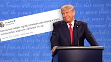 US election: Donald Trump's new debate tactic stuns viewers