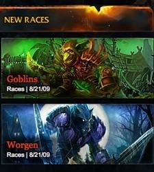 All the World's a Stage: More possibilities for goblins and worgen in Cataclysm