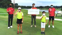 Junior golfers run to raise over $33k for 'You'll Never Walk Alone' ComChest campaign