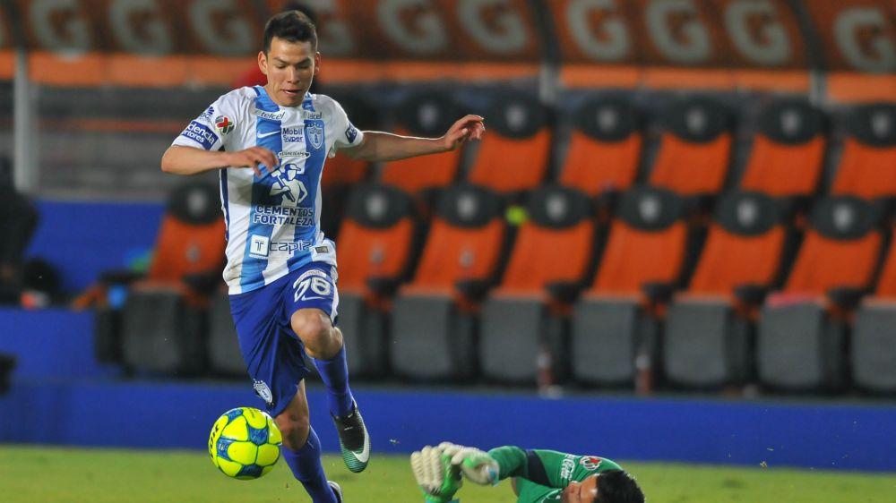Hirving Lozano está en los planes de Manchester City