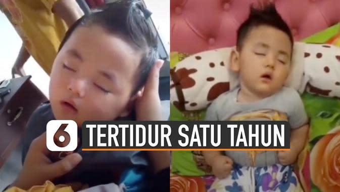 VIDEO: Viral Bayi Tertidur Selama Satu Tahun