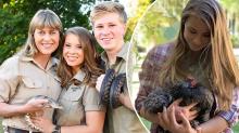 Irwin family animal's death leaves Bindi distraught