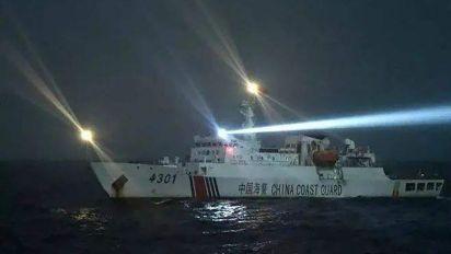 China says Vietnamese fishing boat rammed coastguard ship before sinking