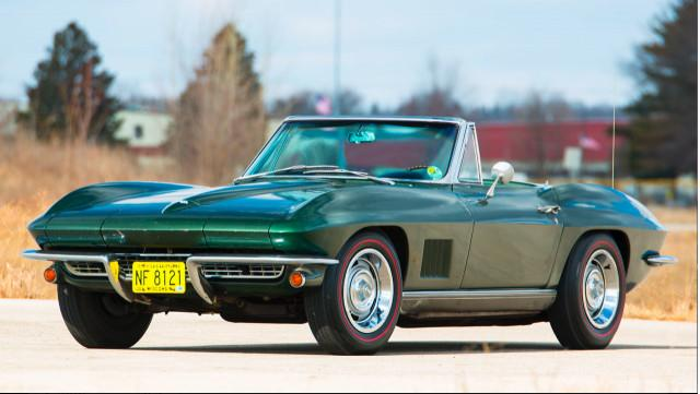 Bart Starr's Super Bowl I MVP 1967 Corvette up for auction