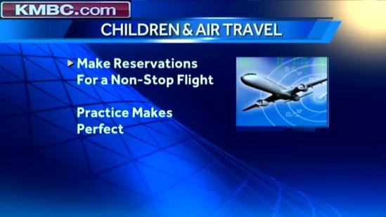 Expert offers safety tips for children traveling over holidays