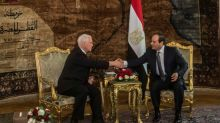 Pence starts Middle East tour in Egypt, pledges 'shoulder-to-shoulder' support