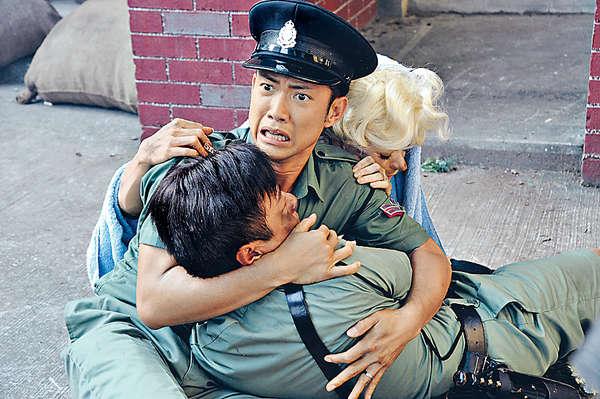 《神探高倫布》演大反派,由忠直警察變成窮凶極惡。