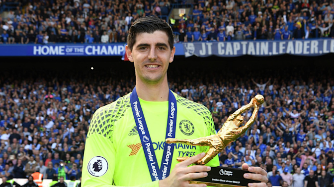 How table-tennis defeats to his dad turned Thibaut Courtois into a winner