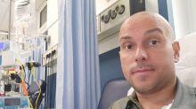 """Alessandro Falli: """"Ho un tumore, la mia speranza è un farmaco negli Usa. Servono 20mila euro ogni 21 giorni"""""""