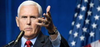 Pence's latest departure from Trump's election rhetoric