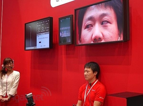 NTT DoCoMo's eye-controlled music interface evolves at CEATEC (video)