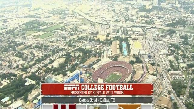 10/12/2013 Oklahoma vs Texas Football Highlights