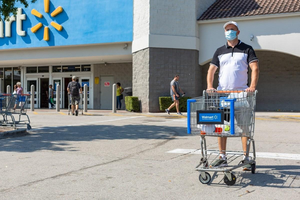 Walmart Just Said They're Reinstating This COVID Safety Measure  image