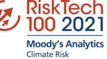 Moody's Analytics gewinnt Climate Risk Award auf dem Chartis RiskTech100® Event