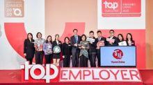 Yum China Certified Top Employer China 2020