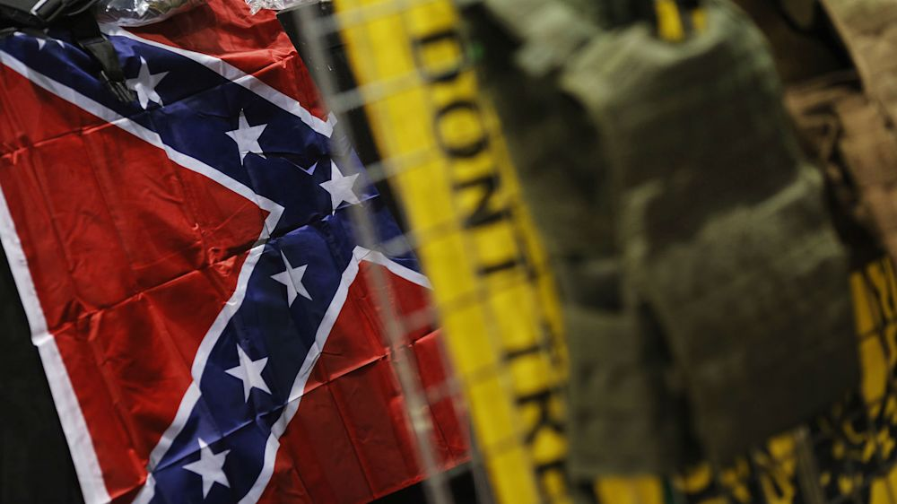 Confederate flags outside NCAA games in South Carolina riles fans, media