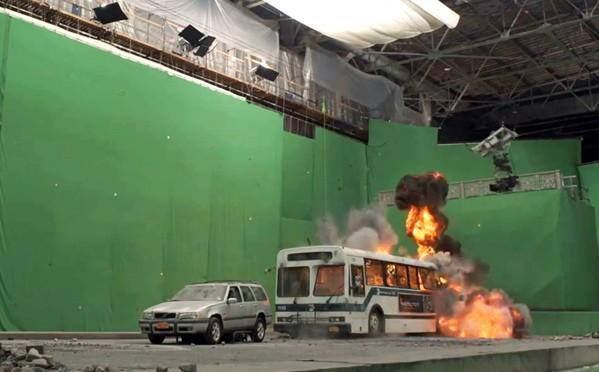 """New York in """"The Avengers"""": Greenscreen in New Mexico plus XXL-Foto-Puzzle (Making-of-Video)"""