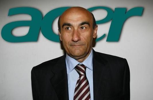 Acer CEO and President Gianfranco Lanci resigns amid disagreement about company's future direction