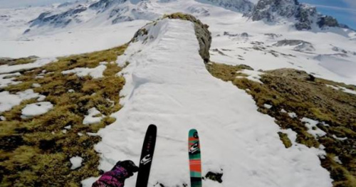 Ski - Vidéo : Julien Lange se fait plaisir à Tignes