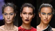 Fashion-Show von Versace: Die sexy Looks von Bella Hadid, Irina Sheyk & Co.