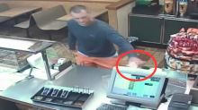 Robbery Suspect Returns To Scene Of Crime -- To Grab Sandwich He'd Left Behind