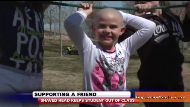 School Reverses Ban on Girl Who Shaved Head to Support Her Cancer-Battling Friend