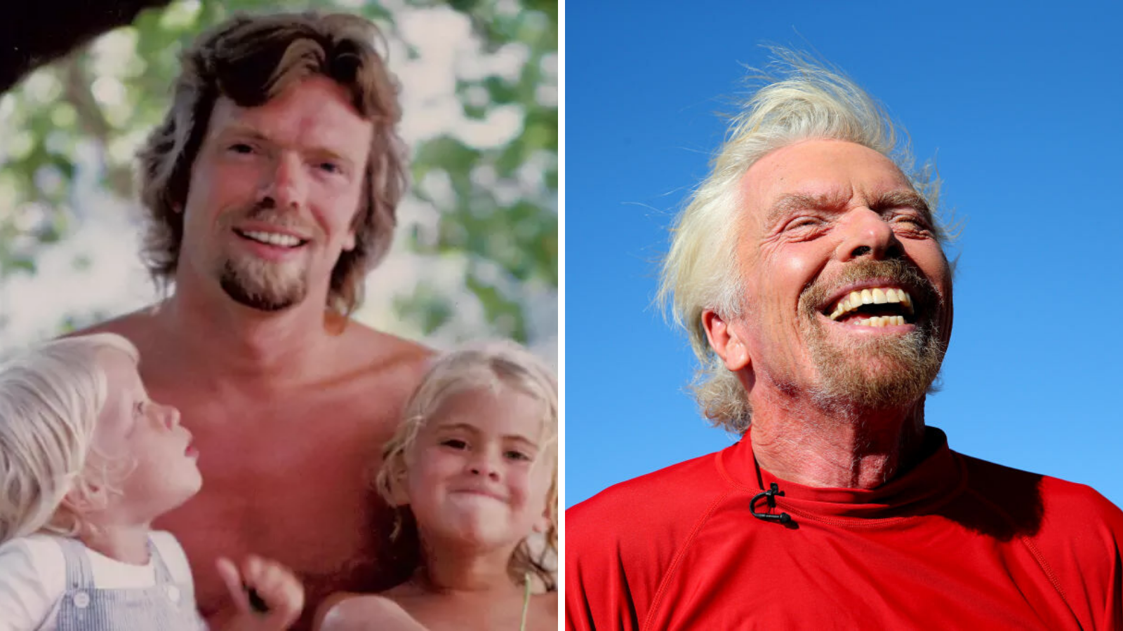 Starting a business is like raising children: Richard Branson - Yahoo Finance Australia
