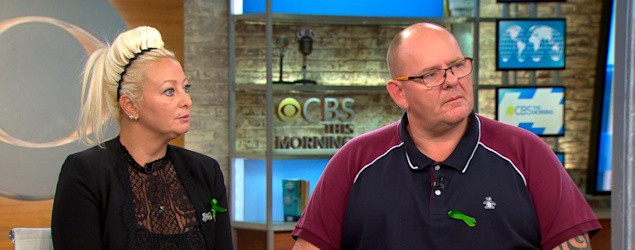 Harry Dunn's parents (CBS News)
