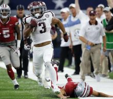 Aggies make it six straight over Arkansas