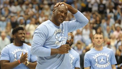 Michael Jordan college jersey fetches record price