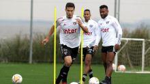 Um dia após empate no Beira-Rio, São Paulo treina no CT do Inter