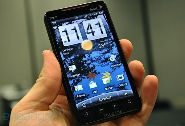 HTC EVO 4G is Sprint's Android-powered knight in superphone armor, we go hands-on