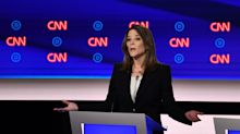 Anderson Cooper confronts Marianne Williamson over past comments that antidepressants 'numb' emotions