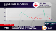Oil moves off highs after Iranian missiles strike Iraq