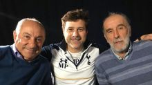 Mauricio Pochettino surprised by Tottenham legends Ossie Ardiles and Ricky Villa ahead of north London derby