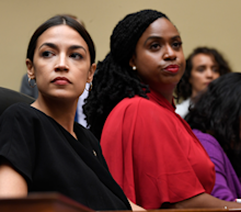 'This country belongs to you': Alexandria Ocasio-Cortez and progressive freshman lawmakers give impassioned response to Trump's attacks