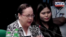 Ubial says she was pressured by lawmaker to continue anti-dengue immunization program