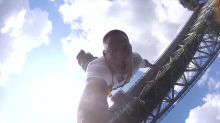 WATCH Will Smith's first attempt at bungee jumping