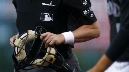 MLB umps end wristband protest after Rob Manfred agrees to meet