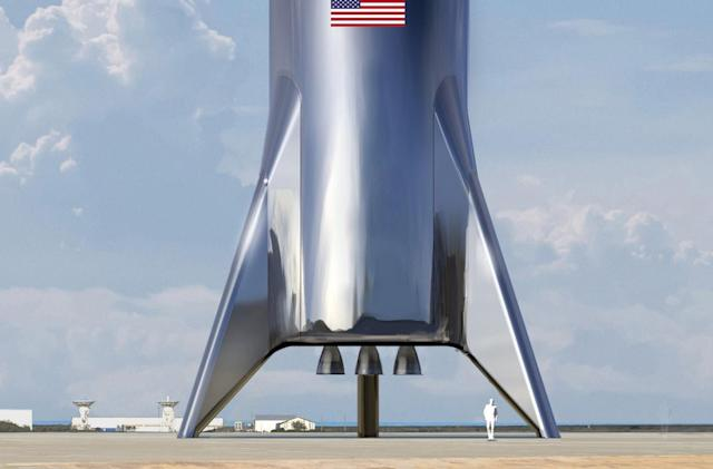 Elon Musk teases final look of SpaceX's Starship test vehicle