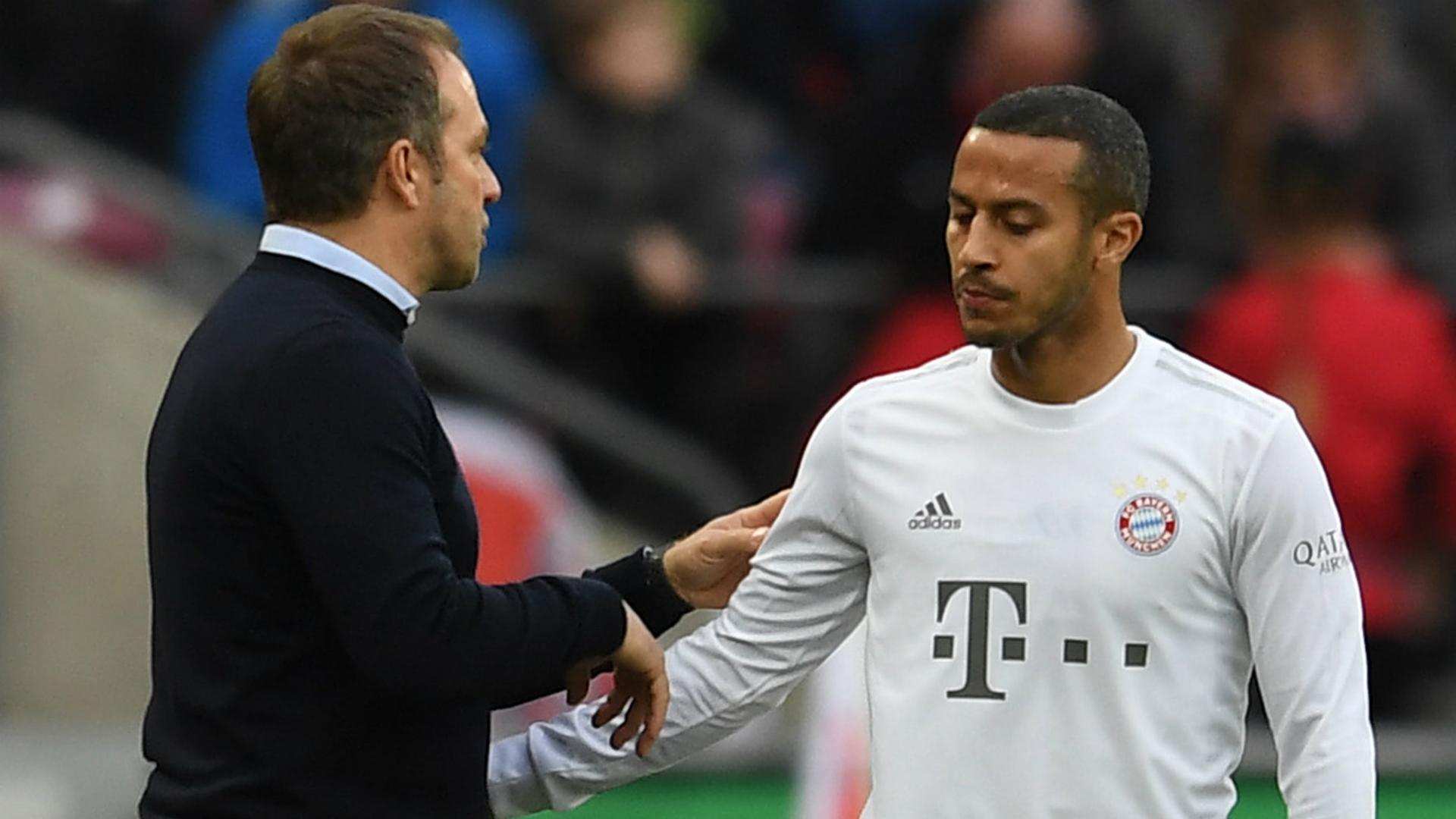 Flick hoping to convince Thiago of Bayern stay amid Liverpool links
