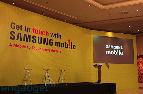 Live from Samsung Mobile's MWC 2009 press conference